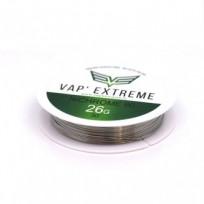 Bobines de fils VAP' EXTRÊME - Nichrome Ni80 0.40mm / 26AWG 30ft