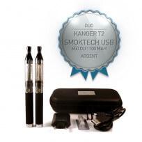 Duo Kanger T2 + SmokTech eGo USB
