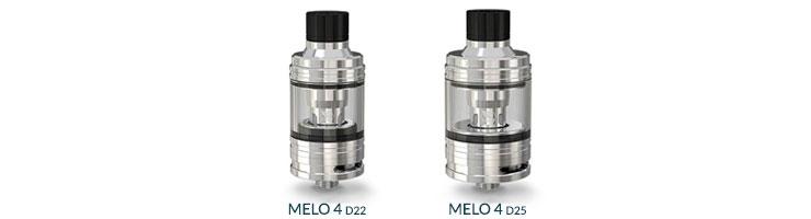 Clearomiseur Melo 4 D22 et D25